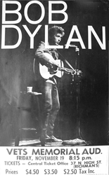 Avid Collector Announces His Search For Original 1965 Bob Dylan Boxing Style Concert Posters